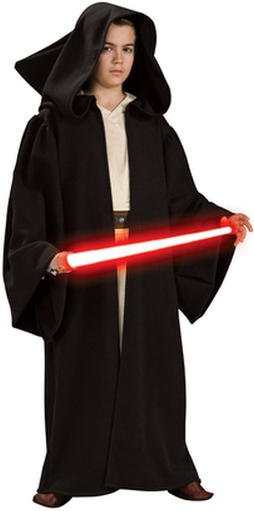 star wars kinder kost m sith robe mit kapuze ebay. Black Bedroom Furniture Sets. Home Design Ideas