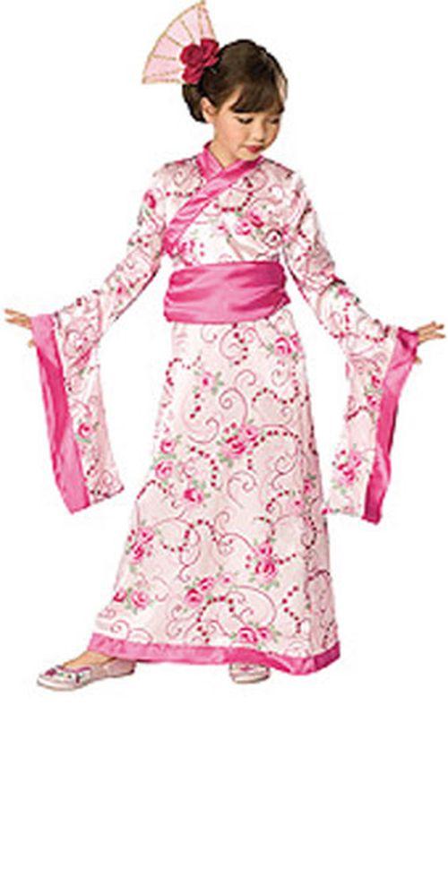 Geisha Kostüm Kinder : kinder kost m geisha japanerin kimono prinzessin ebay ~ Frokenaadalensverden.com Haus und Dekorationen