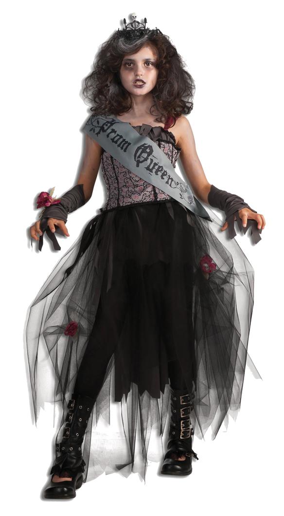 Halloween Kinder Kostüm Gothic Prom Queen Königin Kleid | eBay