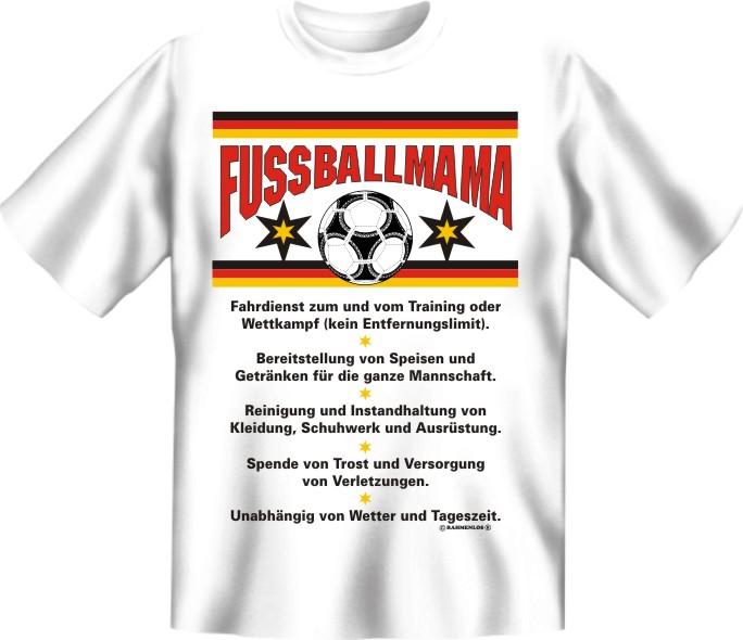 Druck T Shirt Mit Spruch Geschenk Geburtstag Party Fussball Mama Ebay