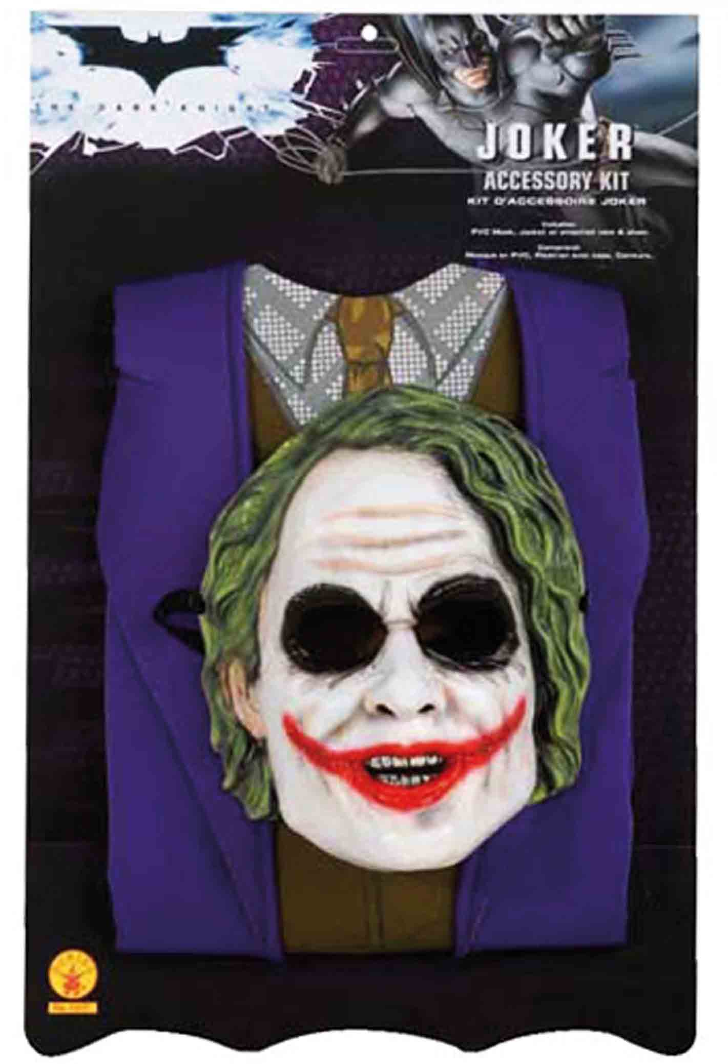 batman kinder jungen karneval kost m joker the dark knight 146 158 zu halloween ebay. Black Bedroom Furniture Sets. Home Design Ideas