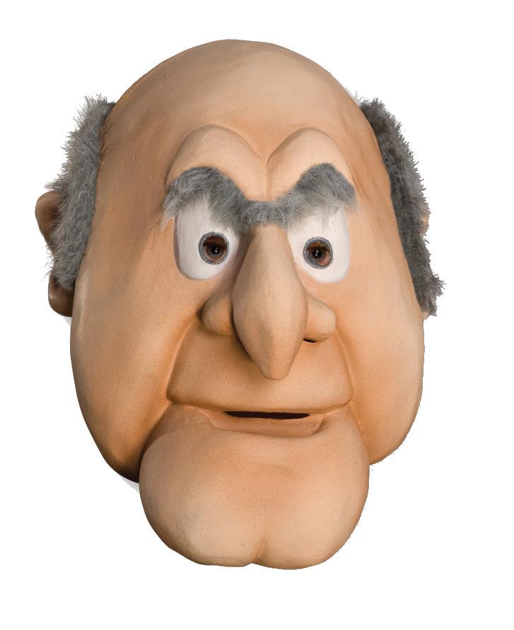 muppet show muppets opa statler deluxe latex maske kost m zubeh r zu karneval ebay. Black Bedroom Furniture Sets. Home Design Ideas