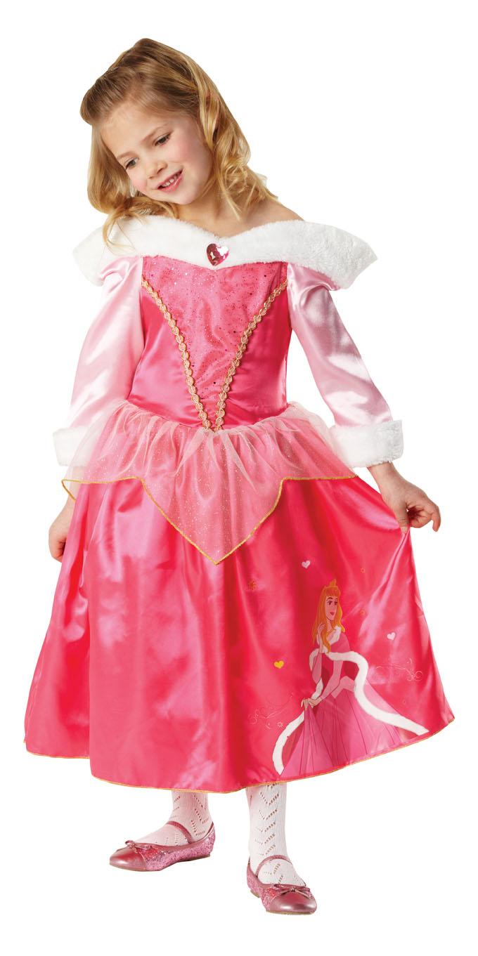 Dornröschen Kostüm Kinder : karneval kinder kost m prinzessin dornr schen winter kleid ebay ~ Frokenaadalensverden.com Haus und Dekorationen