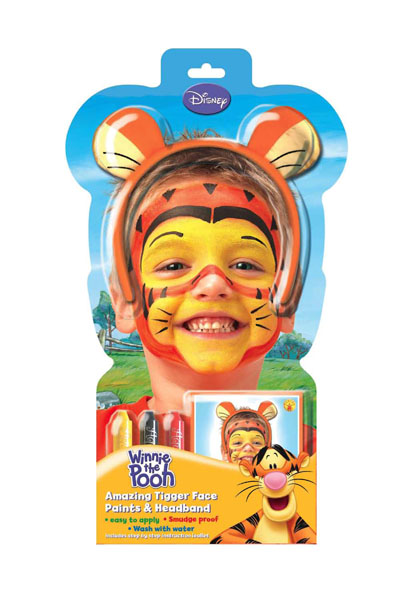 disney tigger tiger schminken make up karneval schminke ebay. Black Bedroom Furniture Sets. Home Design Ideas