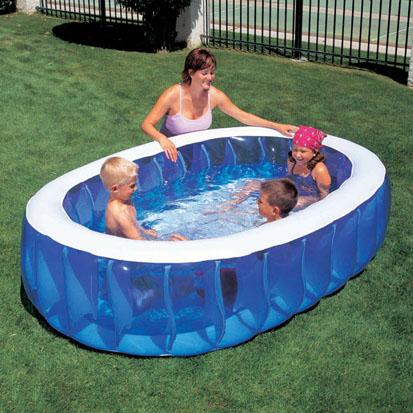 familien planschbecken swimmingpool kinder pool 234 cm ebay. Black Bedroom Furniture Sets. Home Design Ideas