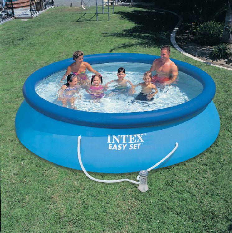 intex easy set quick up fast set pool planschbecken ebay. Black Bedroom Furniture Sets. Home Design Ideas