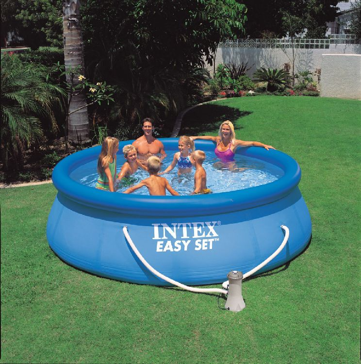 intex easy set quick up pool planschbecken 366 x 91 cm ebay. Black Bedroom Furniture Sets. Home Design Ideas