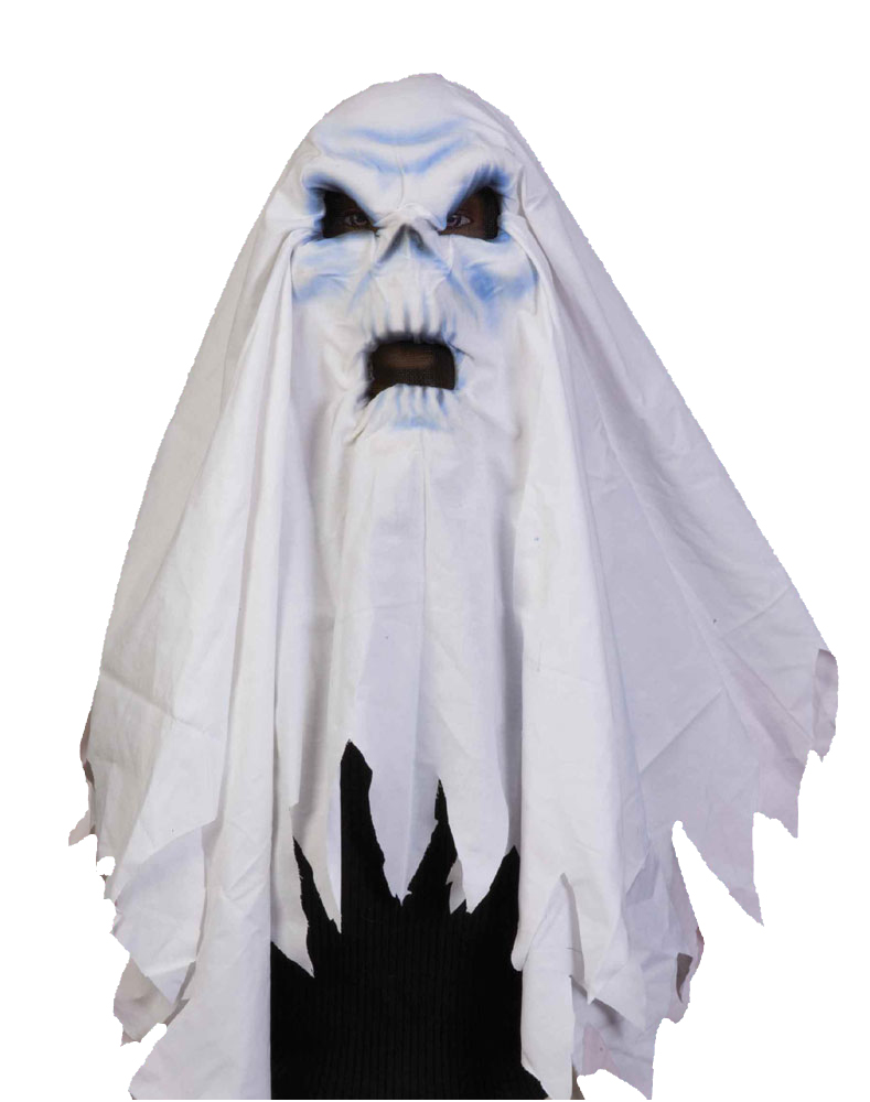 halloween maske geist gespenst geistermaske karneval kost m zubeh r ebay. Black Bedroom Furniture Sets. Home Design Ideas