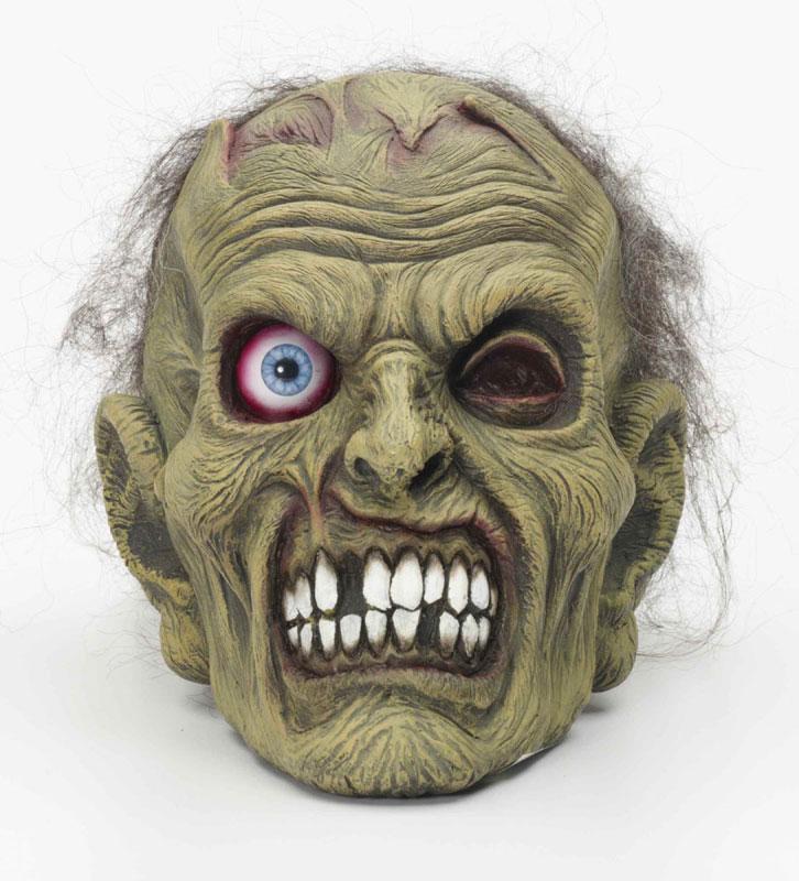 halloween horror monster deko zombie kopf totenkopf party. Black Bedroom Furniture Sets. Home Design Ideas