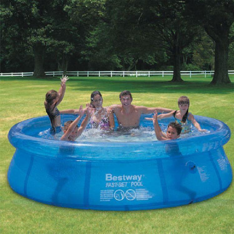 quick up pool easy fast set pool 244cm planschbecken ebay. Black Bedroom Furniture Sets. Home Design Ideas