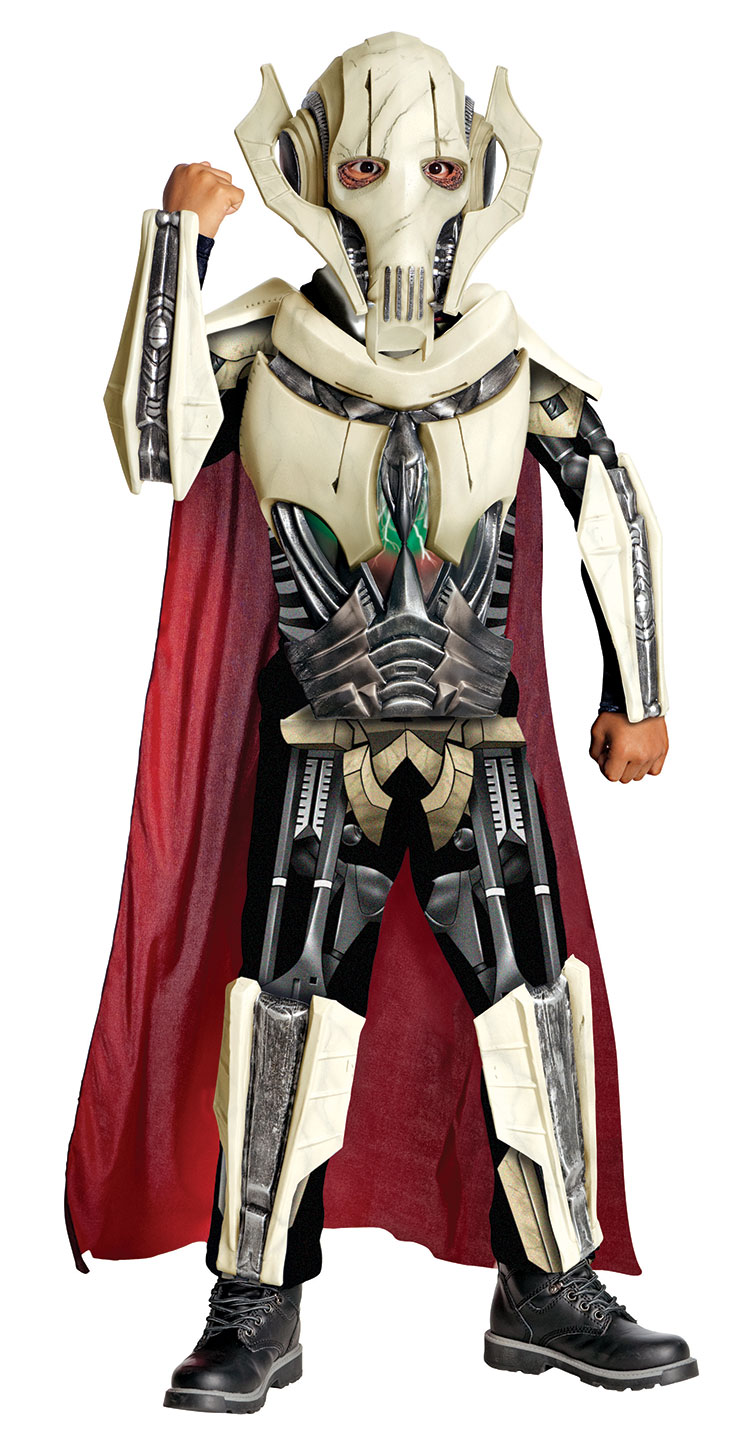 star wars kinder kost m general grievous deluxe ebay. Black Bedroom Furniture Sets. Home Design Ideas