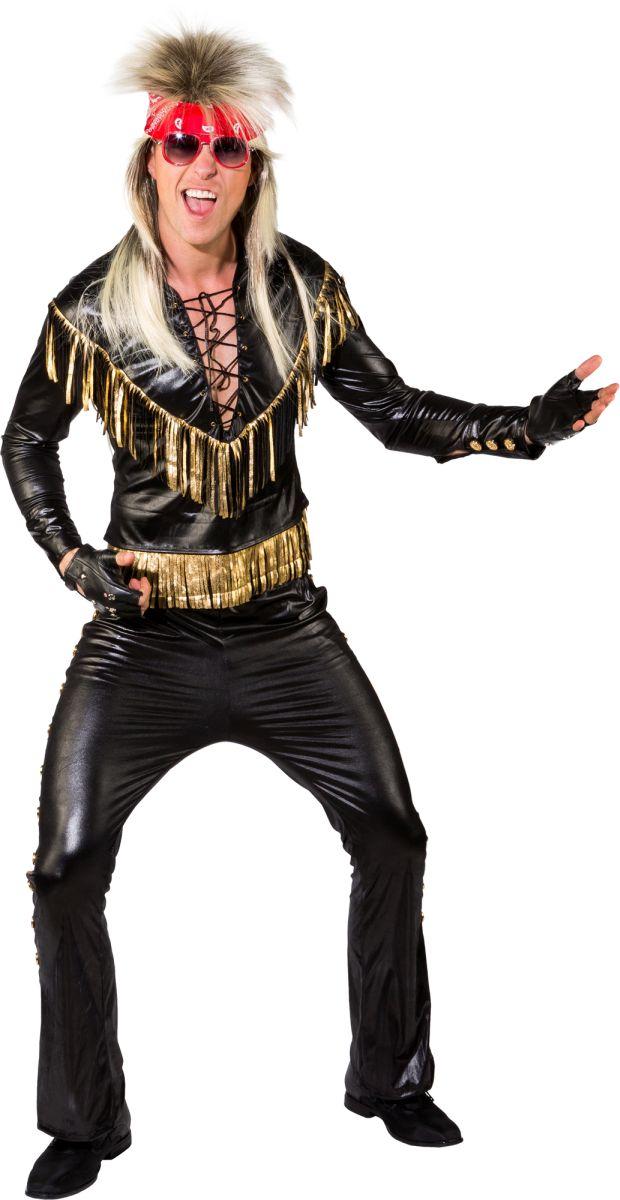 orl herren kost m 80er 90er rocker rockstar karneval ebay. Black Bedroom Furniture Sets. Home Design Ideas