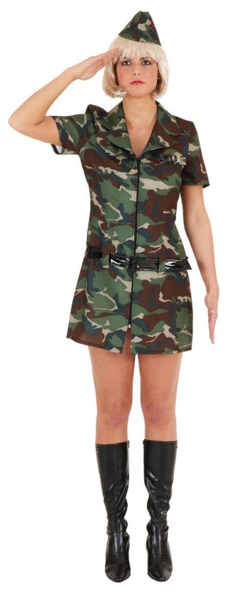army girl damen kost m als soldatin verkleiden zu karneval. Black Bedroom Furniture Sets. Home Design Ideas