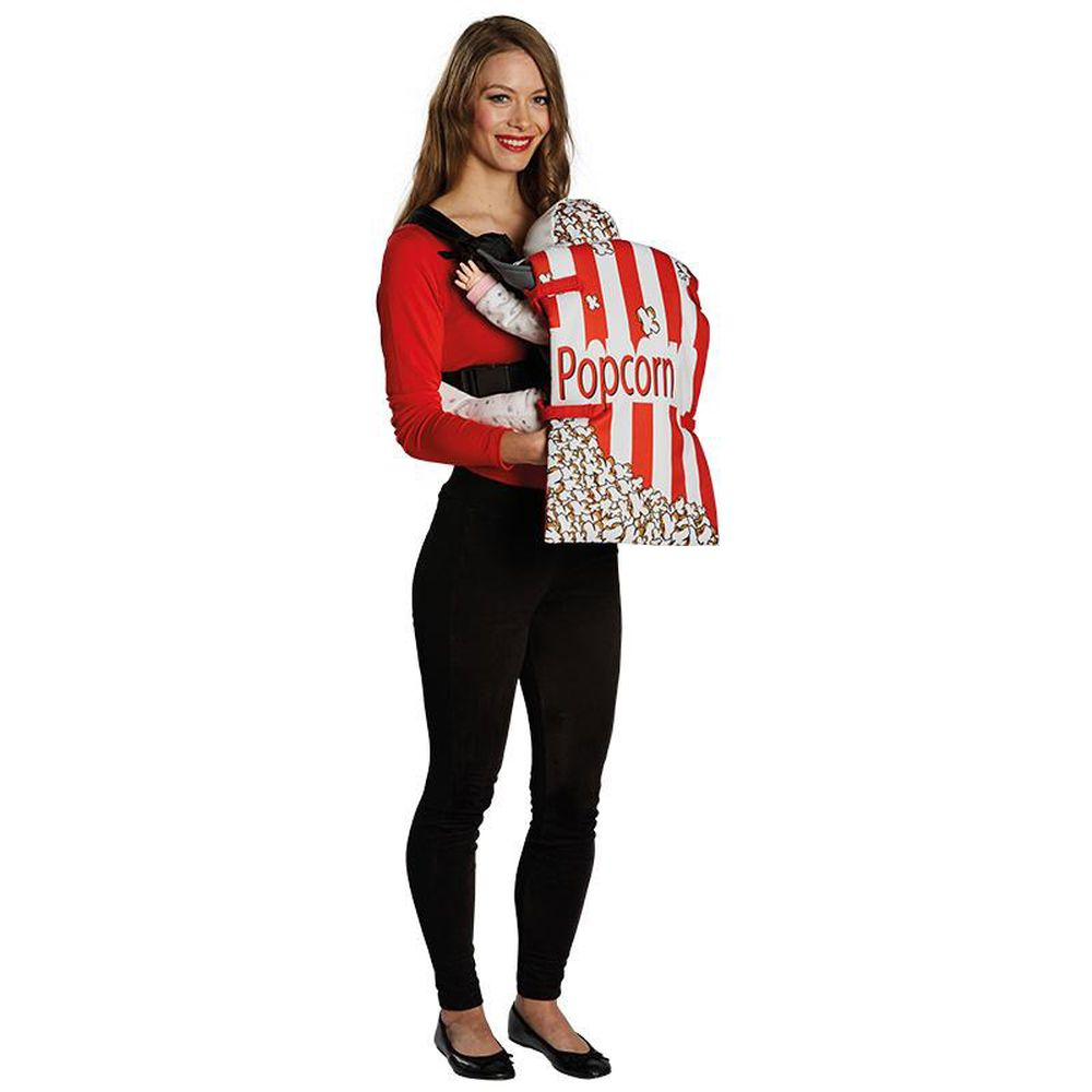rub h lle f r babytrage motiv popcorn karneval fasching party ebay. Black Bedroom Furniture Sets. Home Design Ideas