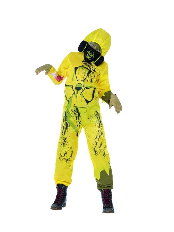 Smi Kinder Kostüm Giftmüll Zombie Halloween